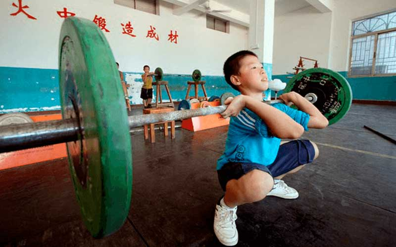 Sobrecarga en niños ¿su entrenamiento es un mito o una realidad?
